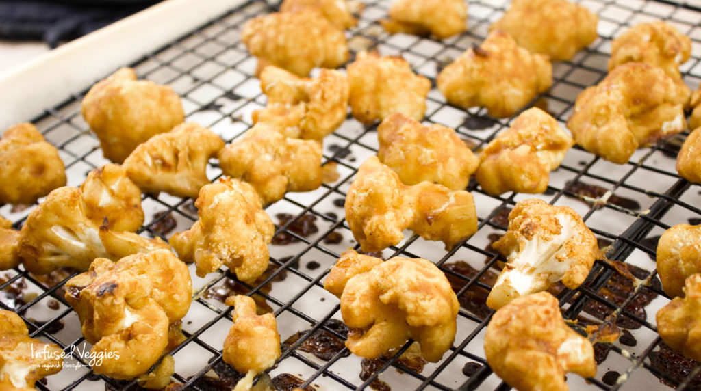 Cauliflower buffalo wings vegan and gluten free are an delicious recipe alternative to the classic chicken wings. A healthy veggie treat.infused veggies.com