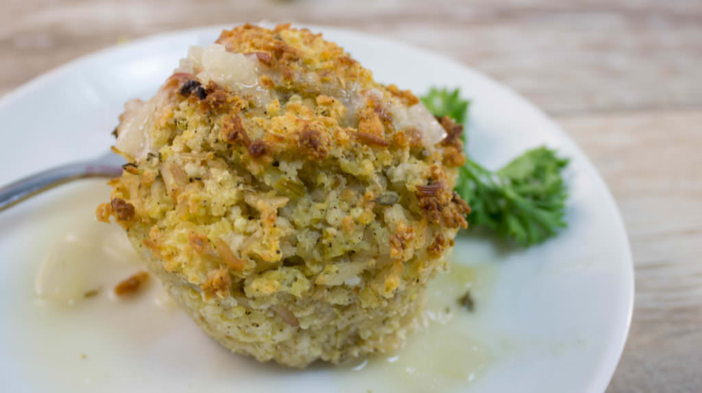 Millet muffins are a take on the classic comfort food, meatloaf. Mini muffins or loaf, vegan, gluten free, versatile and delicious. www.infusedveggies.com