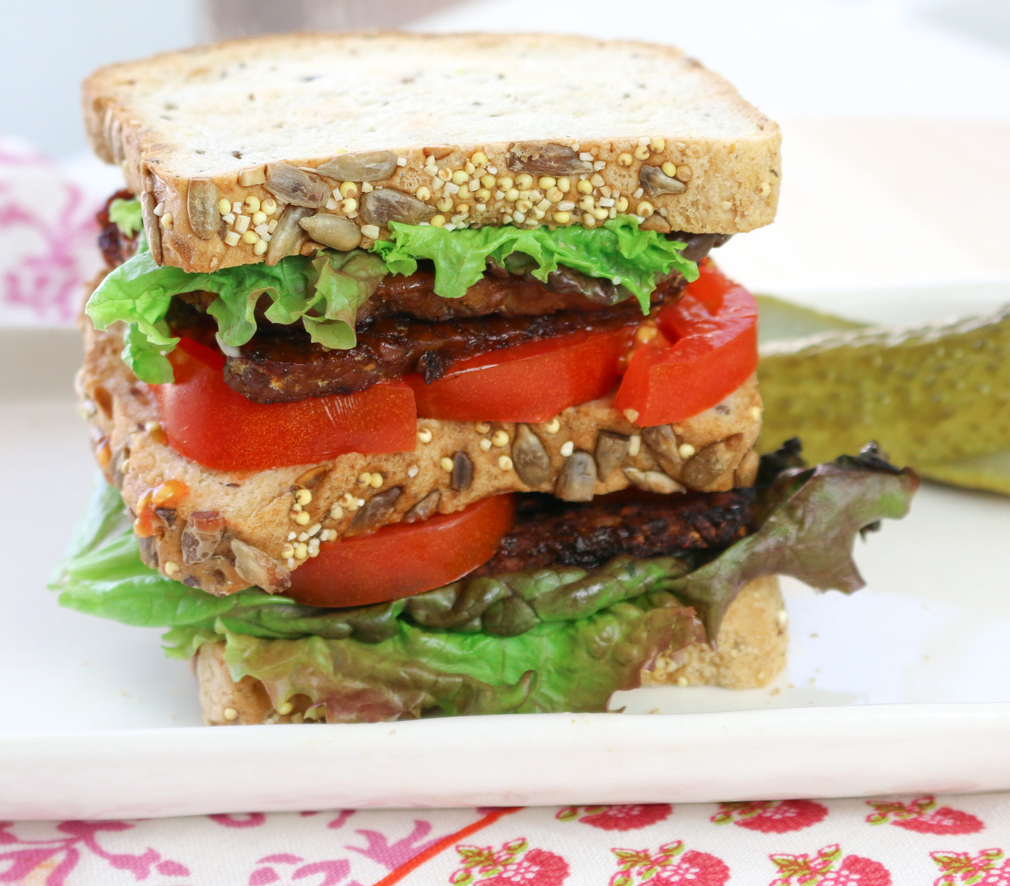 Tempeh bacon is a cinch to make, bold flavors, versatile, fun to eat, breakfast, lunch, dinner or a delicious snack. www.veganglutenfreelife.com/tempeh-bacon/
