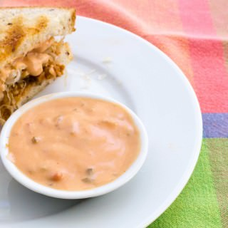 Vegan Thousand Island Dressing and dip